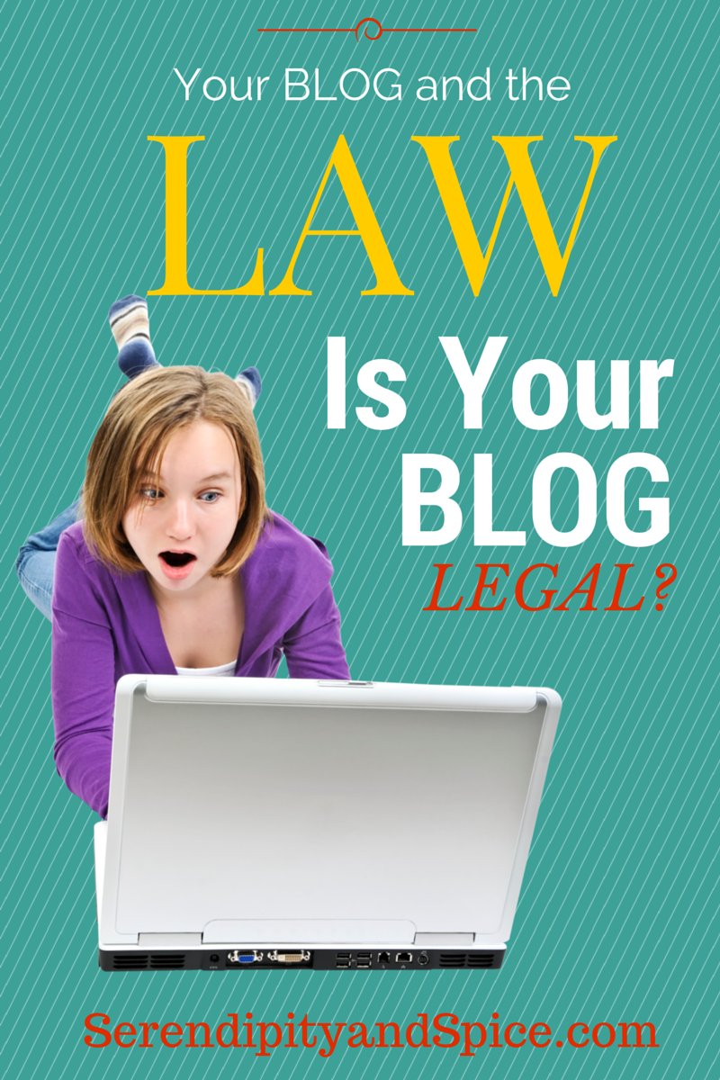 Is your blog legal