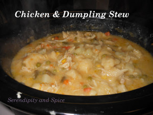 Chicken and Dumpling Stew – Simple 2 Part Recipe