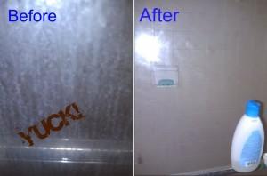 Keeping a Glass Shower Door Clean for 6+ Months