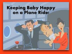 A First Plane Ride… Keeping a 6 month old happy on a flight