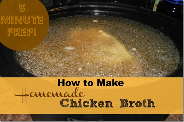 How to Make Homemade Chicken Broth with the Crock Pot - Serendipity ...