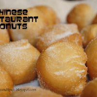 Chinese Restaurant Donuts