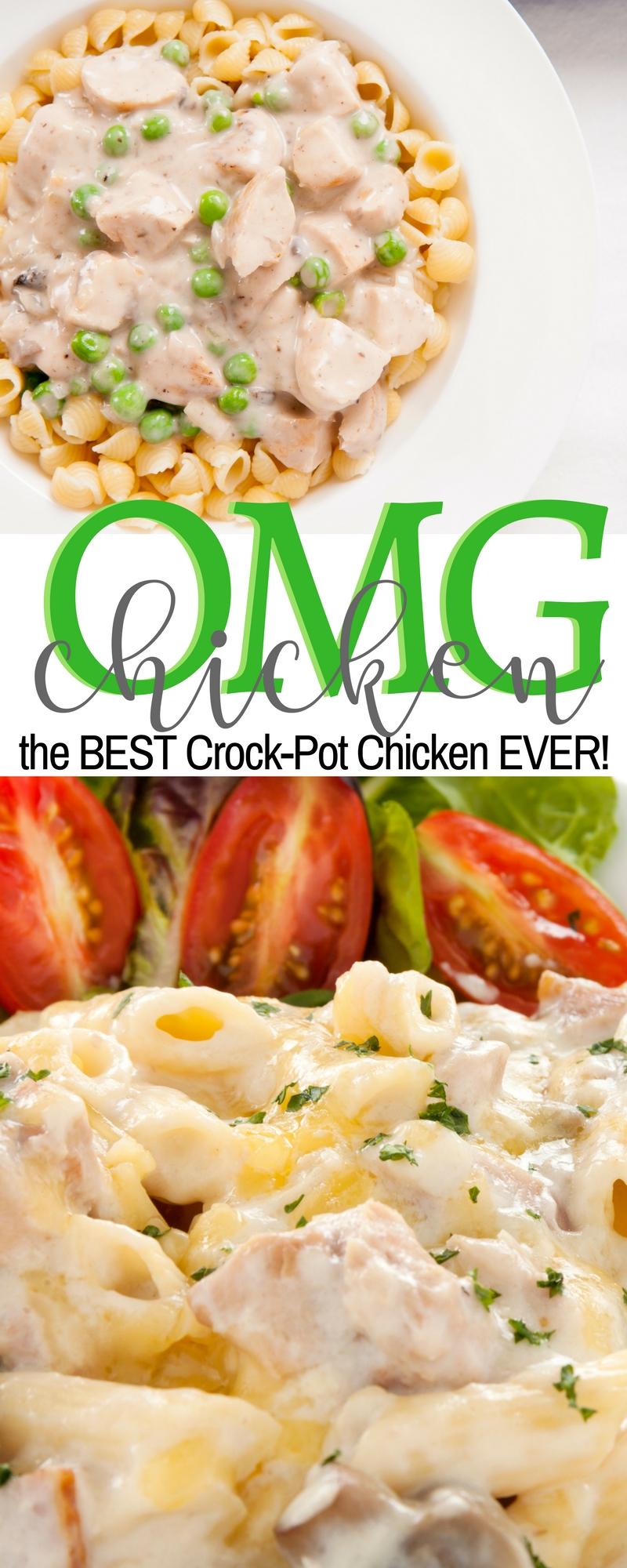 BEST Slow Cooker Chicken Recipe