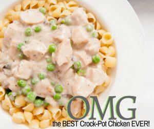 O-M-G BEST Crockpot Chicken EVER Recipe