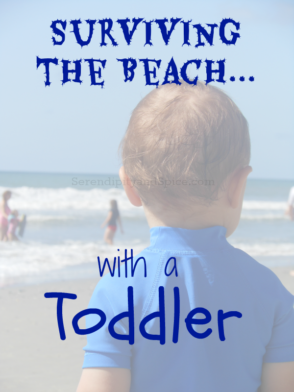 Surviving the Beach- Tips for taking a Toddler to the Beach