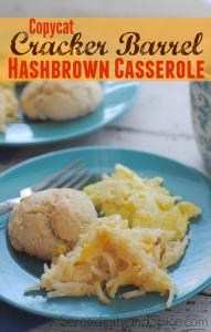 Hashbrown Casserole- Cracker Barrel Copy Cat Recipe
