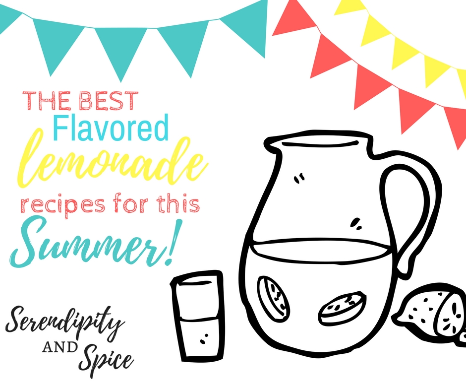 These simple and delicious flavored lemonade recipes will help quench your thirst while keeping your taste buds happy this summer!