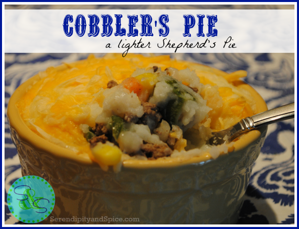 Cobbler Pie – A Lighter Shepherd's Pie Recipe