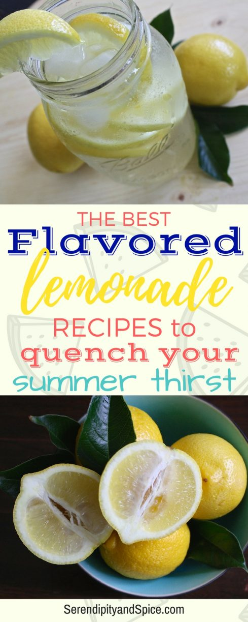 The BEST Flavored Lemonade Recipes for Summer