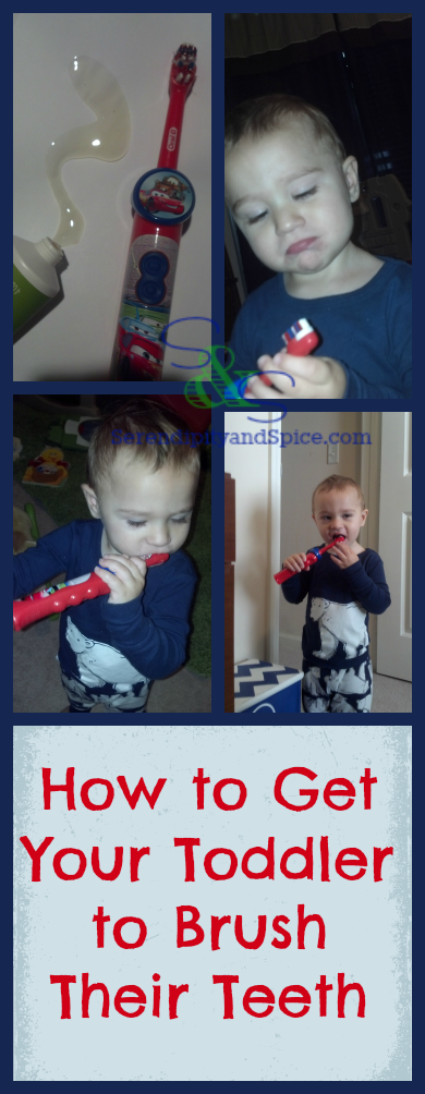 How to get your toddler to brush teeth