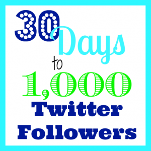 Grow Your Twitter Following!  1000 Followers in 30 Days!