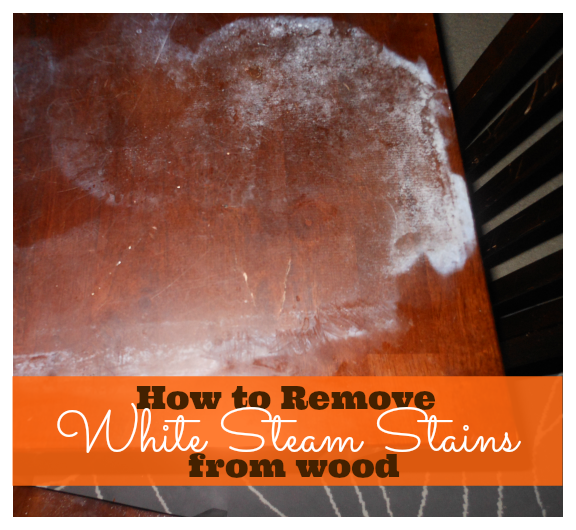 Genial How To Remove White Steam Stains From Wood