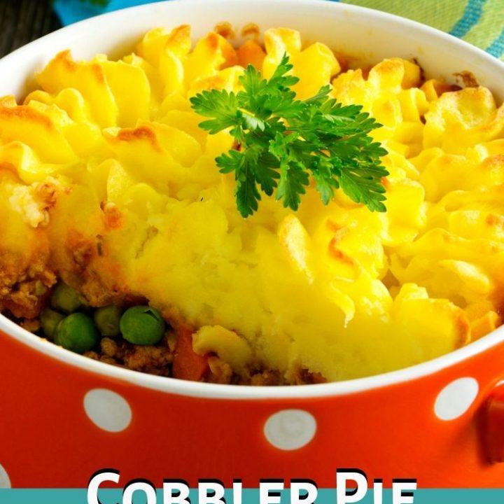 Cobbler Pie - A Lighter Shepherd's Pie Recipe