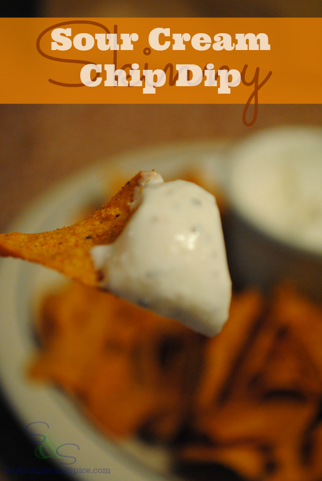 Throw this chip dip together with 4 simple ingredients you can always have on hand!