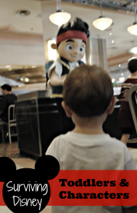 Surviving Disney: Toddlers and Characters
