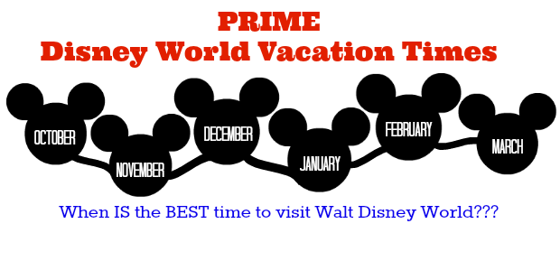 Best time to visit Disney World