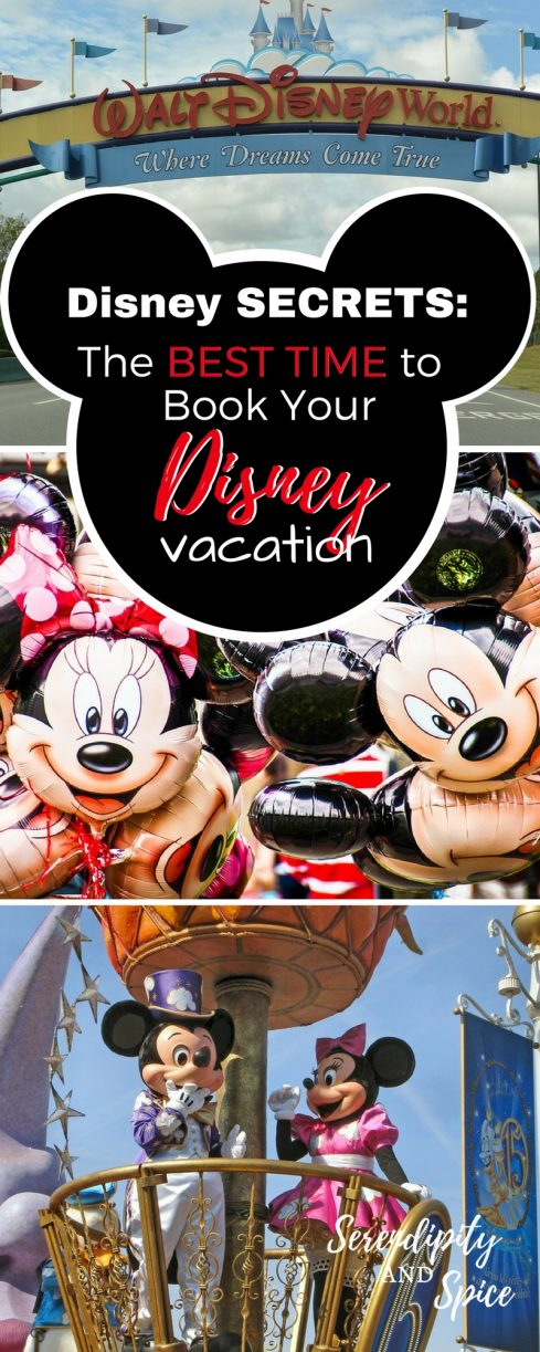 Disney Secrets: When is the BEST Time to Book a Disney Vacation