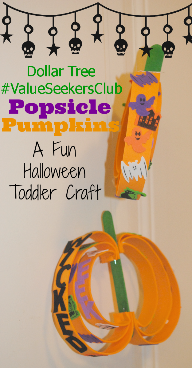 Dollar Tree Pumpkin Craft #ValueSeekersClub