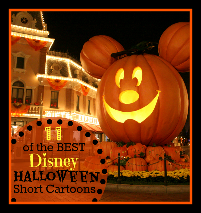 Best Disney Halloween Short Cartoons