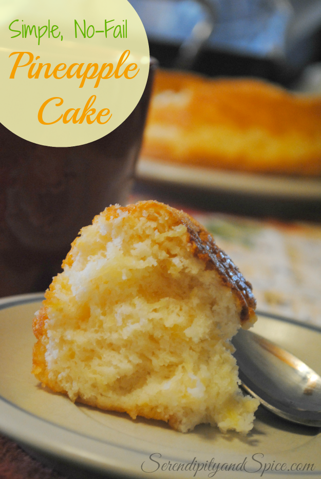 No-Fail Pineapple Cake