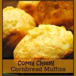 Corny Cheesy Cornbread Muffins Recipe