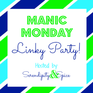 Manic Monday Linky Party 12/23