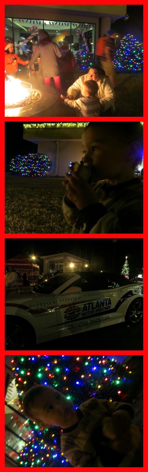 atlanta motor speedway christmas village