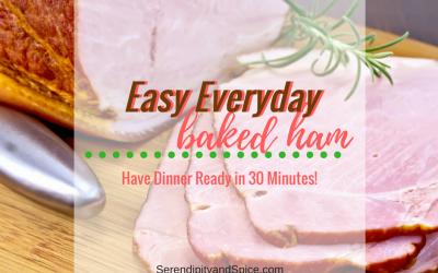 Week Night Baked Pineapple Ham Recipe