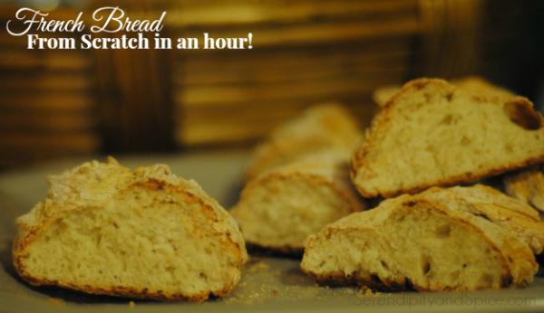 Fast, Easy French Bread Recipe