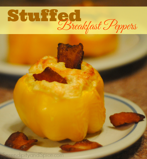 Stuffed Breakfast Peppers Recipe