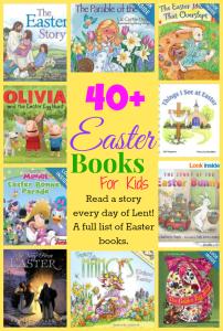 40 Days of Children's Easter Books for Lent