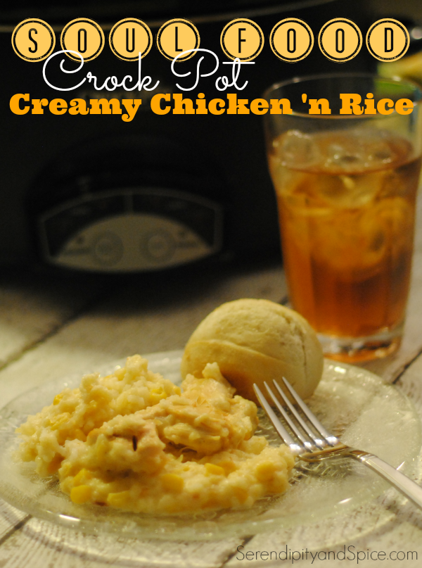 crock pot chicken and rice recipe