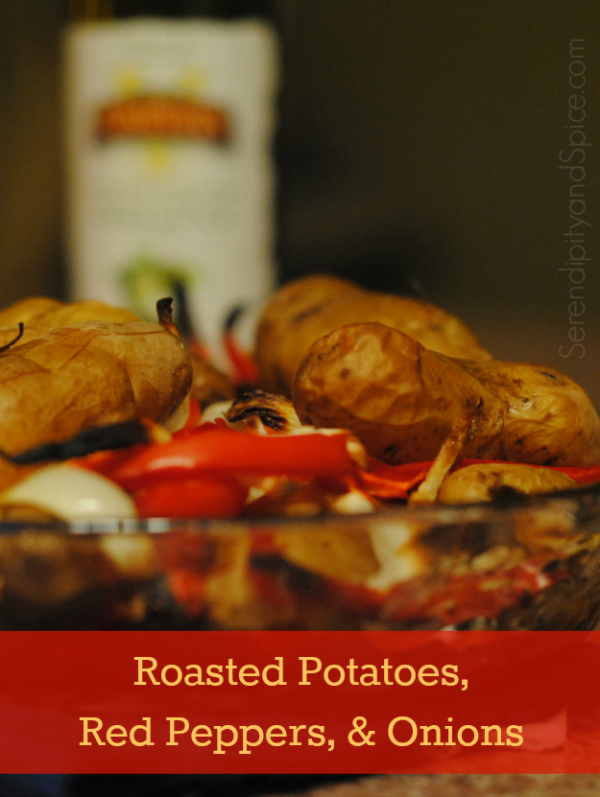 Roasted Potatoes Red Peppers and Onions Recipe