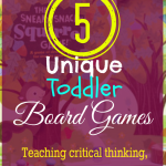 Top 5 Unique Board Games for Toddlers