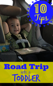 Surviving a Road Trip with a Toddler