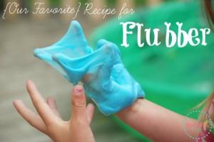 Homemade Flubber Recipe- Guest Post