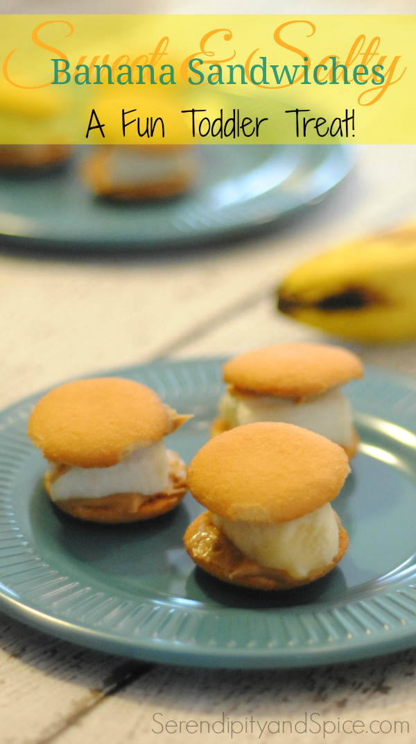 Banana Sandwiches Recipe for Toddlers