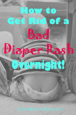 How to get rid of diaper rash