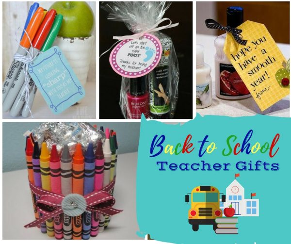 First Day of School Teacher Gifts - Check out these first day of school teacher gifts.  Making a fun little gift for back to school will let teachers know that you appreciate all they do for your child.