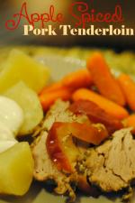 Apple Spiced Pork Tenderloin Recipe