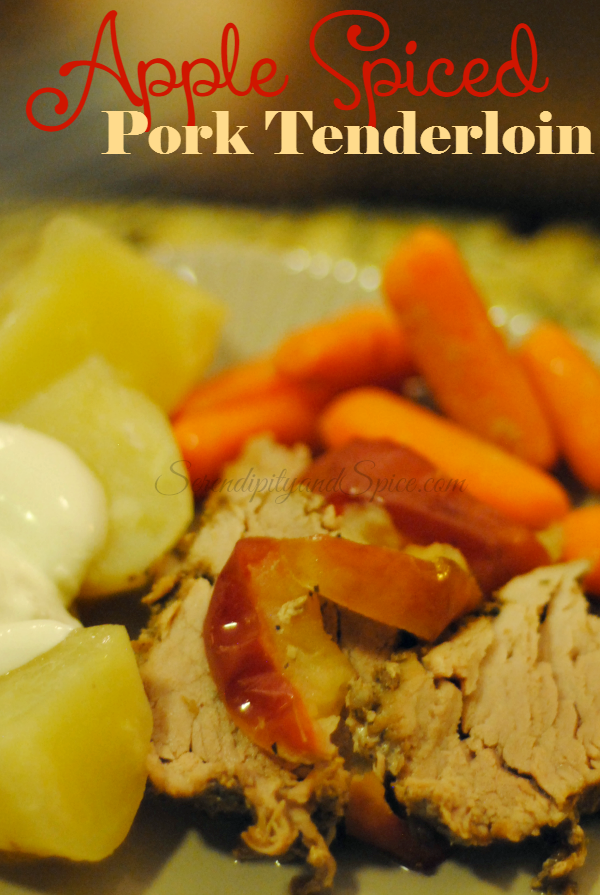 Apple Spiced Pork Tenderloin Recipe