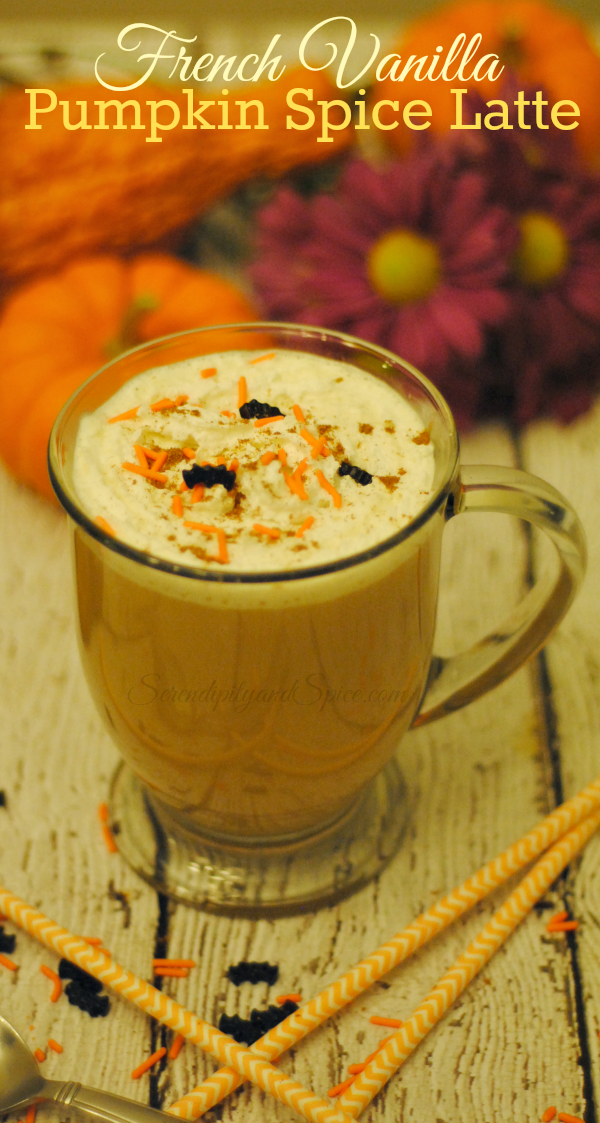 French Vanilla Pumpkin Spice Latte Recipe