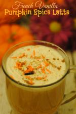 French Vanilla Pumpkin Spice Latte