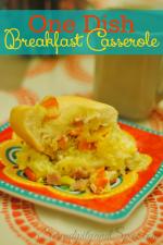 One Dish Breakfast Casserole Recipe