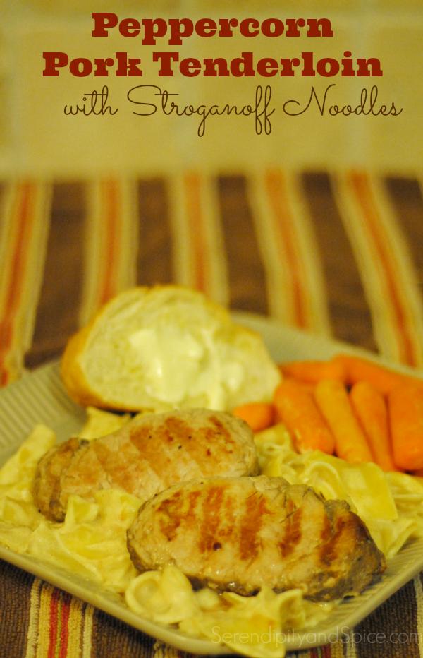 Pork Tenderloin with Stroganoff Recipe