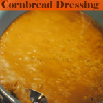 Simple Easy Moist Cornbread Dressing Recipe