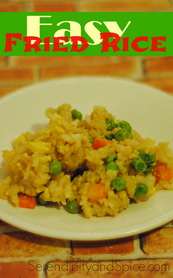 Simple Chinese Fried Rice Recipe