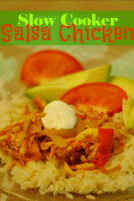 Slow Cooker Salsa Chicken Recipe
