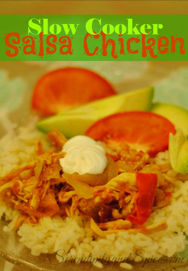 Slow Cooker Salsa Chicken Recipe with Success Rice