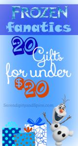 Top 20 Frozen Gifts Under $20
